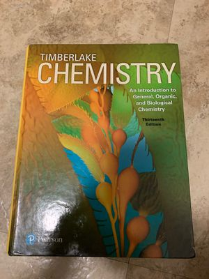 Timberlake Chemistry Textbook for Sale in Cleveland, OH