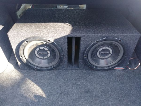 2 10 inch pioneer subs