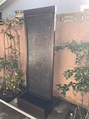 Waterfall fountain indoor/outdoor excellent condition for Sale in San Marcos, CA