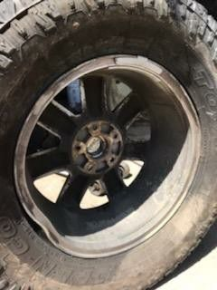 """Jeep Wrangler JK wheels 18"""" for Sale in Fresno, CA"""