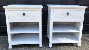 Pier 1 end tables Night stands for Sale in Tacoma, WA