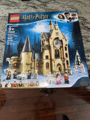 LEGO Harry Potter and The Goblet of Fire Hogwarts Clock Tower Castle Playset with Minifigures 75948 for Sale in Hilliard, OH
