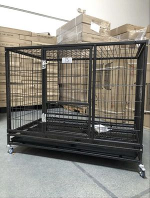 Brand new heavy duty XL dog pet kennel cage crate with metal floor brand new in box🇺🇸 see dimensions in second picture🐕 for Sale in Las Vegas, NV