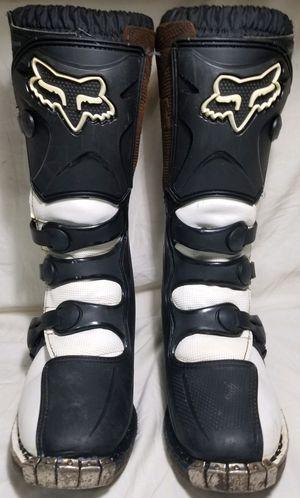 FOX tracker Girls dirt bike boots size 8 for Sale in Marysville, WA