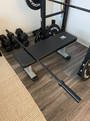 """72"""" Total length Barbell. Rackable. 9"""" Sleeves for Sale in Raleigh, NC"""