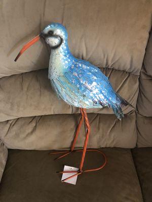 New Metal Blue Bird for Sale in Hampton, VA