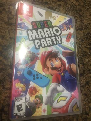 Nintendo Switch Super Mario Party for Sale in Glendale, AZ