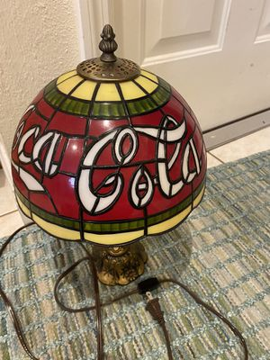 Vintage Coca Cola Lamp for Sale in Tampa, FL