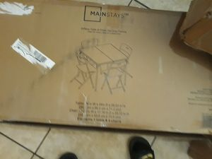 Folding table and Chair set new in box for Sale in Phoenix, AZ