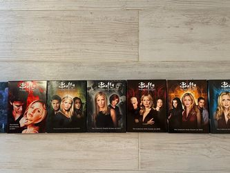 Seasons 1 Thru 7 of The Tv Show Buffy The Vampire Slayer DVD for Sale in Tacoma,  WA