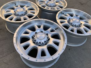 Black Rhino Chevy Silverado 2500 3500 Wheels Sierra 2500HD Rims 8x180 for Sale in Rio Linda, CA