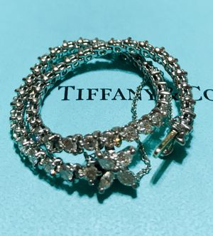 Tiffany & Co - Victoria Platinum and Diamond Bracelet for Sale in Lorton, VA