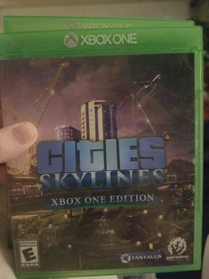 Xbox one cities skyline for Sale in Everett, WA