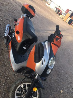 150cc Moped Scooter Motorcycle Scooter 150 Adult Scooter Gas Moped Scooter (Orange) for Sale in NV, US