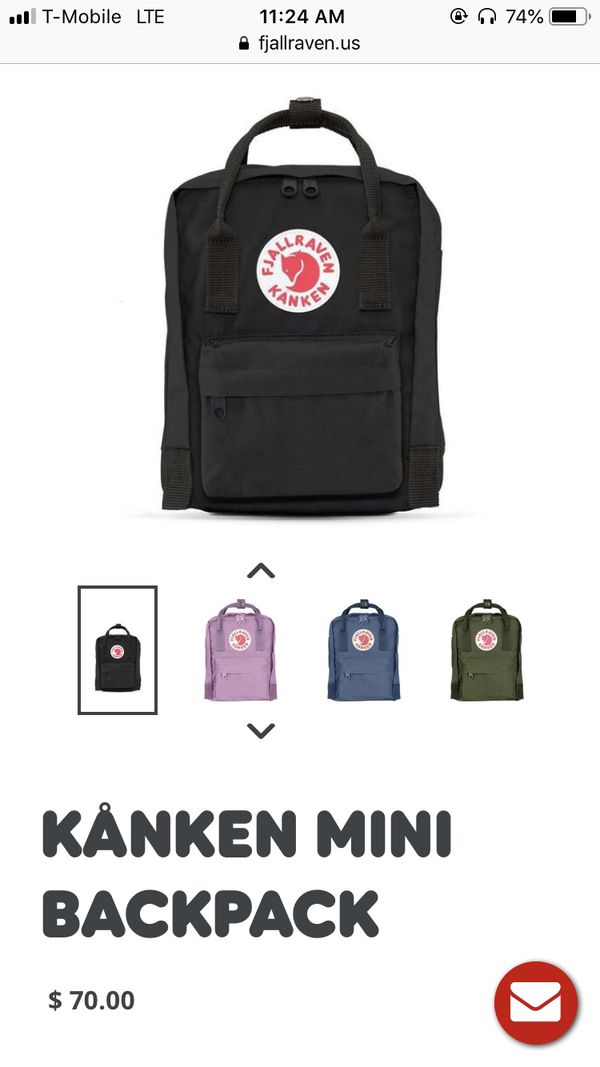 FJALLRAVEN KANKEN MINI BACKPACK for Sale in San Antonio, TX - OfferUp