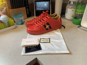 Gucci Ace Designer Sneakers for Sale in Tacoma, WA