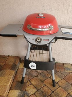 Charbroil Bbq Barbecue Red Patio Electric Grill for Sale in Fort Lauderdale,  FL