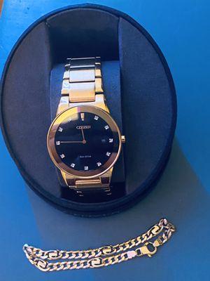Citizen Eco Drive Axiom Diamond Men's watch for Sale in DeKalb, IL