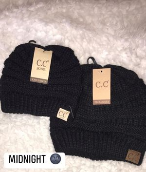 Cc beanies for mommy and baby for Sale in Jonesboro, AR