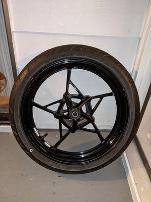 Enkei Motorcycle Front Rim 110/70/R17 for Sale in Lynnwood, WA