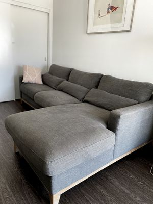 Urban home 2 piece sectional couch for Sale in Los Angeles, CA