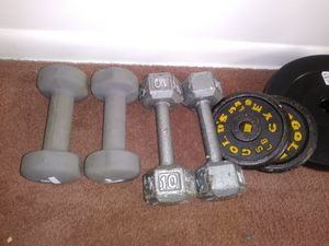 10, 8 and 5 weights for all for Sale in Lansing, MI