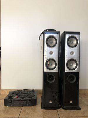 Marantz NR1403 Receiver & TR-2900 Digital Series Speakers for Sale in Scottsdale, AZ