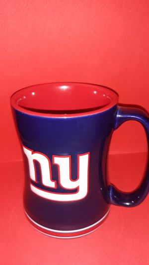 NFL NY Giants red white and blue logo 3D coffee/tea mug 2013 for Sale in The Bronx, NY