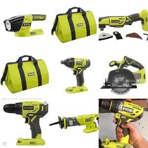 Ryobi dewalt power tools, driver, drill, impact driver, saw, multi tool for Sale in Dearborn Heights, MI