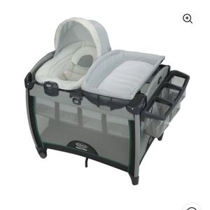 Graco Pack 'n Play Quick Connect Playard with Portable Bounce for Sale in Burbank, CA