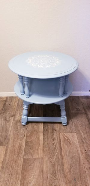 Refinished two tier end table for Sale in Austin, TX