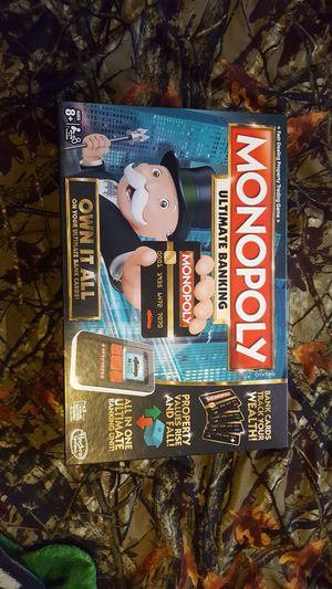 Monopoly Ultimate Banking for Sale in Crocker, MO