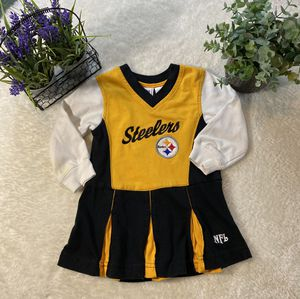 Steelers infant/toddler cheerleader dress for Sale in Houston, TX