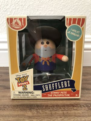 STINKY PETE PROSPECTOR SHUFFLERZ 2019 DISNEY PIXAR TOY STORY 2 WINDUP FIGURE NIB for Sale in Los Angeles, CA