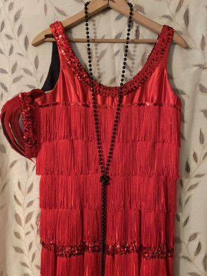 FLAPPER DRESS AND ACCESSORIES for Sale in Hialeah, FL