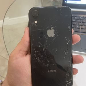 Iphone Xr Cracked Scree Works Perfect for Sale in Cape Coral, FL