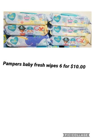 Pampers baby fresh wipes for Sale in Los Angeles, CA