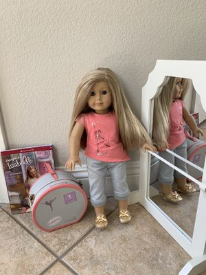 American girl doll Isabell and pottery barn kids ballet mirror for Sale in San Diego, CA