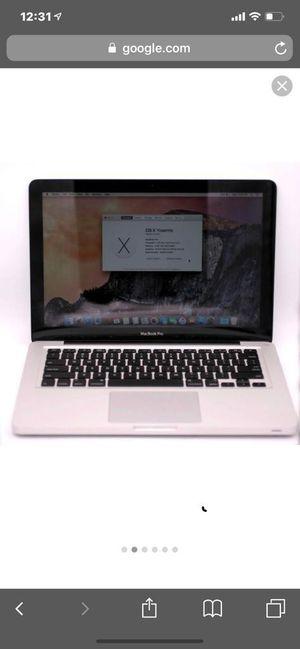 """2012 macbook pro 13"""" for Sale in La Mesa, CA"""