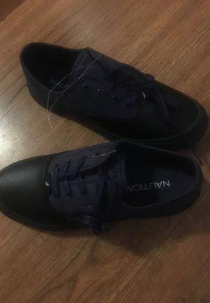 Sz 8 Nautica denim n Leather shoe for Sale in Columbus, OH