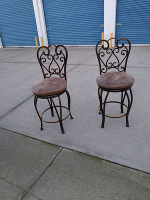 Beautiful chairs.....25 tall for Sale in Modesto, CA