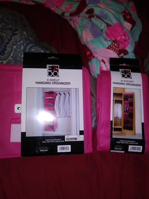 Closet organizer and shoes for Sale in Las Vegas, NV