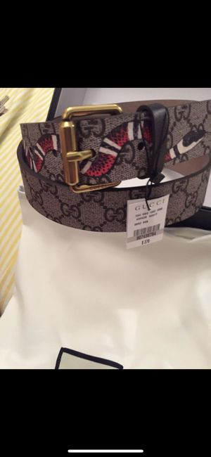 GUCCI BELT 2018 brand New King Supreme snake for Sale in New York, NY