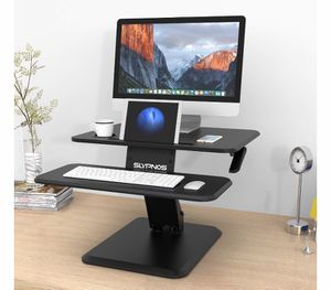 SLYPNOS Sit and Standing Desk Converter for Sale in Miami, FL