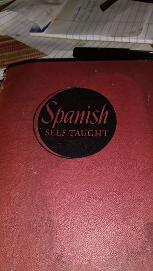 Spanish self taught for Sale in Hyattsville, MD