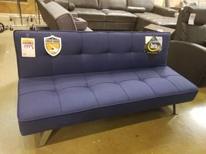 Navy Linen Futon for Sale in Phoenix, AZ