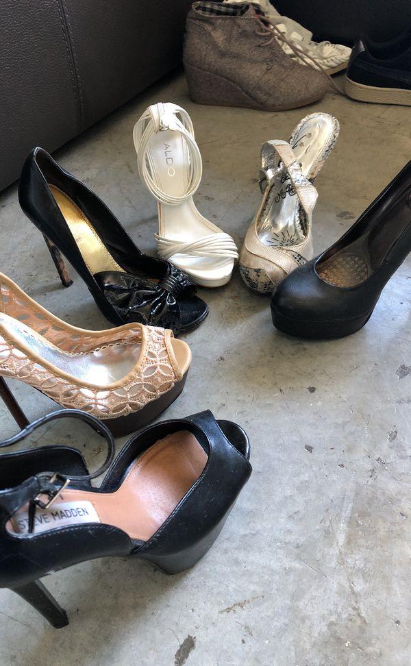 Size 6 / 37 women's shoes / heels - Best offer goes