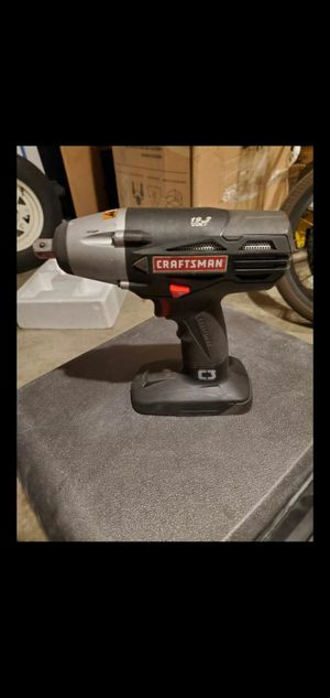 """CRAFTSMAN 19.2V VOLT 1/2"""" IMPACT WRENCH VERY POWERFUL! TOOL ONLY for Sale in Atwater, CA"""