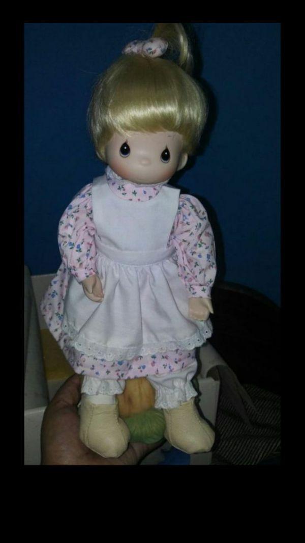 Precious moments porcelain dolls