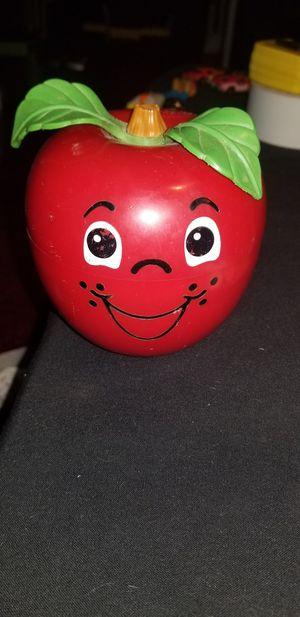 1972 fisher price Red apple for Sale in North Las Vegas, NV